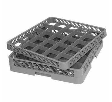 F617 - Réhausseur casier à verres 25 compartiments Vogue pour lave-vaisselle Pro