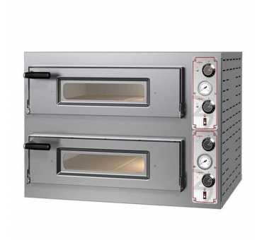 PIZZAGROUP - Four à pizzas électrique Entry Basic 2 chambres Ø300-340mm - BASIC2