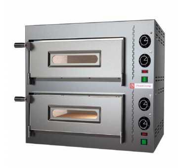 PIZZAGROUP - Four à pizzas électrique Compact 2 chambres - COMPACT2