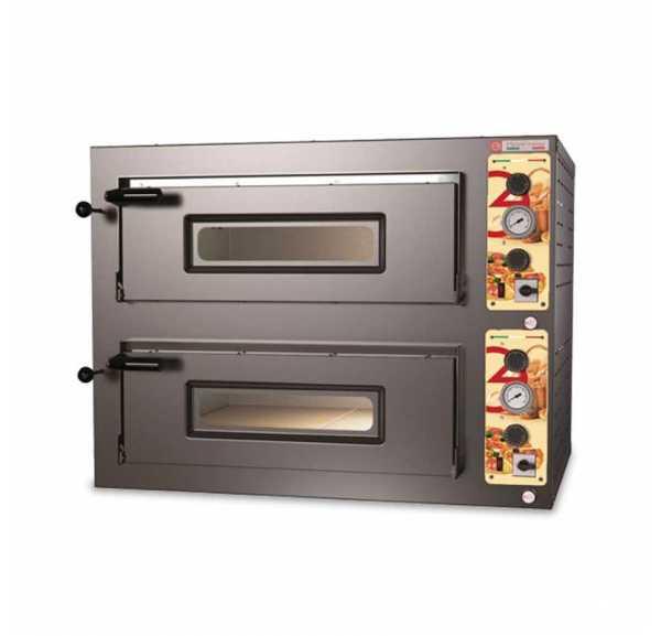 PIZZAGROUP - Four à pizzas électrique Panepizza 2 chambres Ø330 mm - PANEPIZZA