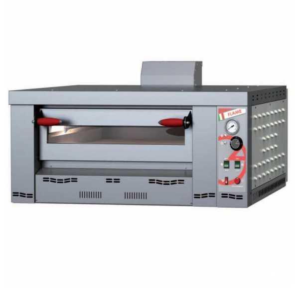 PIZZAGROUP - Four à pizzas gaz Flame 1 chambre 6xØ300-340 mm - FL6