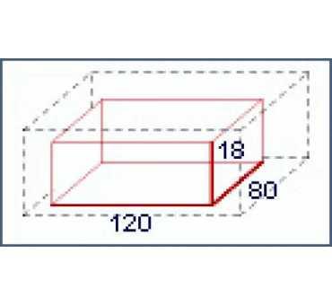 MORETTI FORNI - Four à pizza électrique SERIEP 1 chambre x 11 pizzas Ø 30 mm - P120E1-B