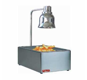 ELECTROBROCHE - Réserve à frites avec lampe chauffante infrarouge RF1000AC