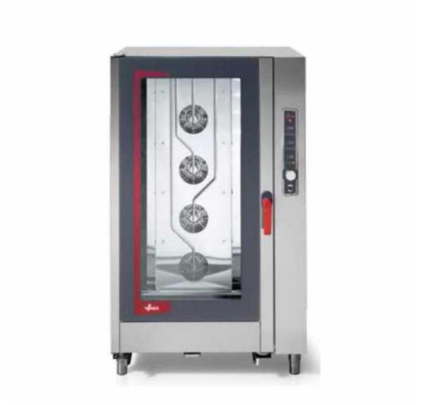 VENIX - Four mixte électrique avec système de lavage automatique 20 x GN1/1 ligne Giudecca numérique