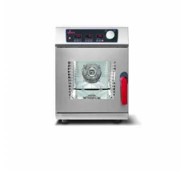 VENIX - Four mixte électrique compact 6 x GN1/1 avec lavage automatique ligne Rialto numérique