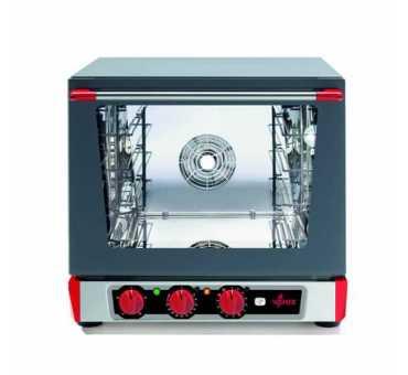 VENIX - Four pâtissier avec grill et humidificateur 4 niveaux 450 x 340 - Torcello T043MG