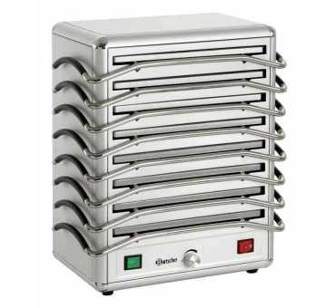 Réchaud 8 plaques aluminium de maintien au chaud Bartscher - 120802