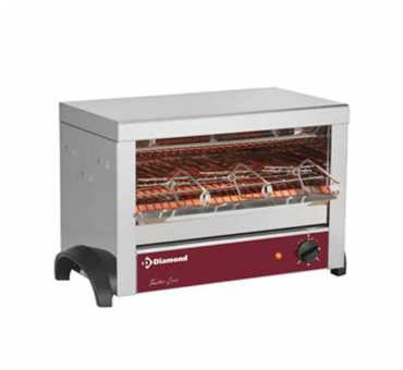 Toaster professionnel à quartz Diamond 1 niveau