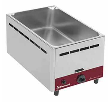 Bain marie gaz Gn 1/1 Diamond (modèle de table à poser) BMG-1/1