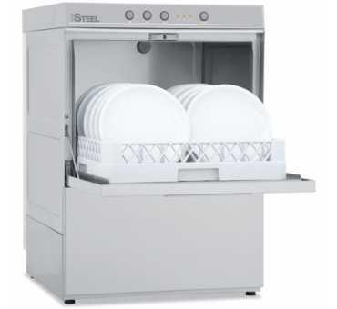 COLGED - Lave-vaisselle professionnel panier 500x500 mm tri 400V avec pompe de vidange
