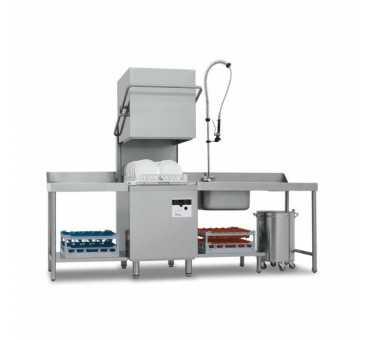 COLGED - Lave-vaisselle à capot casiers 500x500