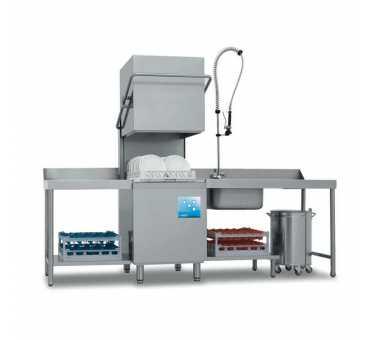 ELETTROBAR - Lave-vaisselle à capot panier 500x500 ouverture de capot 400