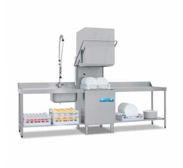 ELETTROBAR - Lave-vaisselle à capot panier 500x500 ouverture de capot 450mm