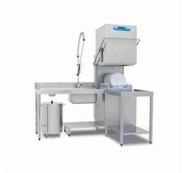 ELETTROBAR - Lave-vaisselle panier 500x500 ouverture de capot 465mm