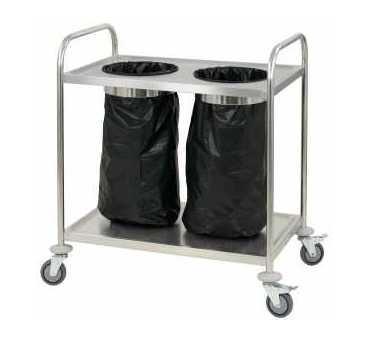 CASSELIN - Chariot porte poubelle