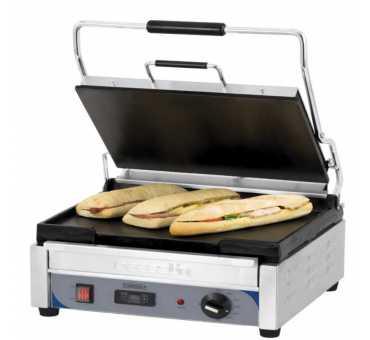 CASSELIN - Grill panini grand premium lisse - lisse avec minuteur