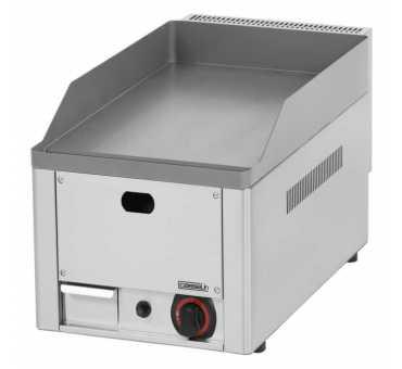 CASSELIN - Plancha gaz fonte d'acier inoxydable lisse à poser 330 mm