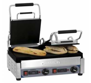 CASSELIN - Grill panini double premium lisse - lisse avec minuteur