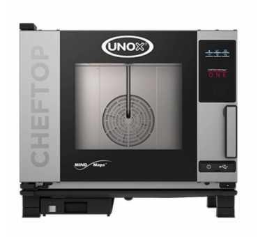UNOX - Four mixte électrique 5 niveaux - ChefTop Zero XEVC-0511-EZRM