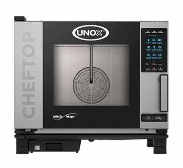 UNOX - Four mixte électrique 6 niveaux Gn2/1 CHEFTOP™ MIND.MAPS
