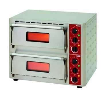 ELECTROBROCHE - Four à pizza infrarouges (2 pizzas Ø 42 cm) - PZ 430 D