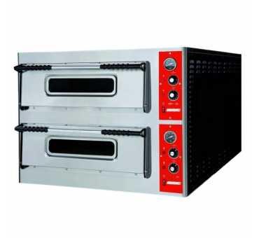 TECHNITALIA - Four à pizza électrique 2 x 6 pizzas - SMA66