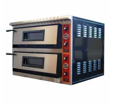 ELECTROBROCHE - Four à Pizza Electrique 2 x 6 Pizzas - EXPORT 2 /76