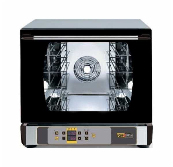 FOURNINOX - Four à convection électrique 4 niveaux 442 x 325 mm - SD504VE