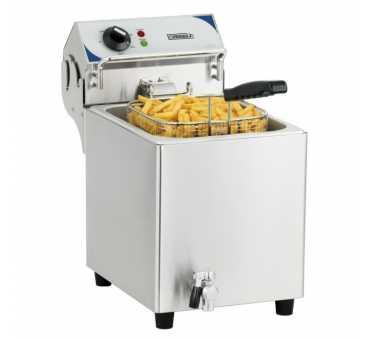 CASSELIN - Friteuse électrique à poser avec vidange 10 litres - CFEV10