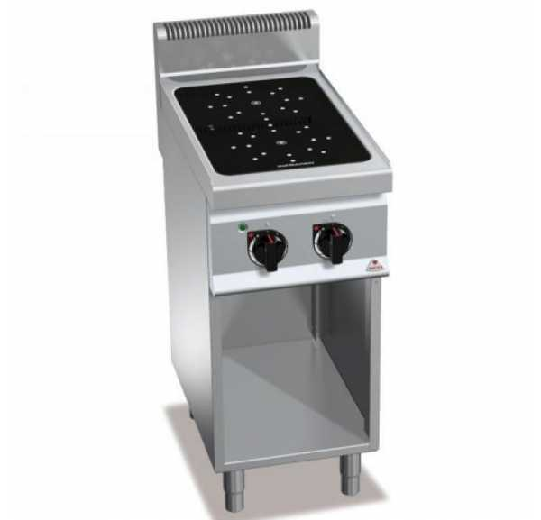 BERTO'S - Wok a induction electrique E7P2M VTR BE