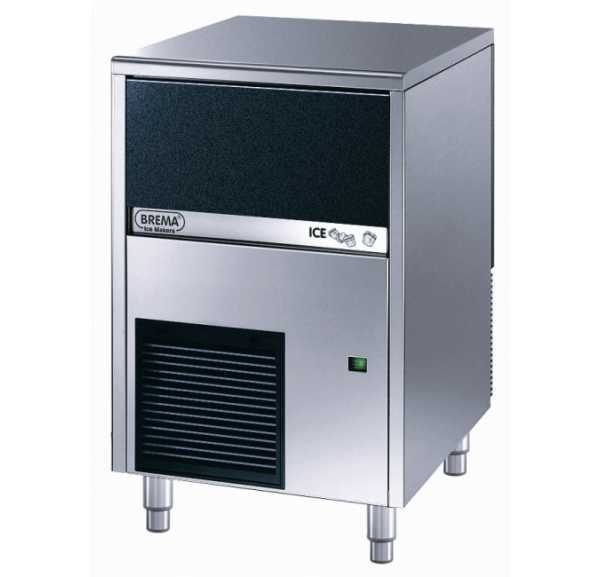 BREMA - Machine à glaçons pleins 42 kg/24h - CB416A