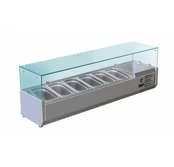 Saladette Réfrigérée à Poser 6 x GN 1/3 - VR3150RW