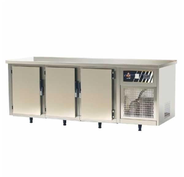 ACTIF - Tour pâtissier froid statique +2/+10°C - 3 portes 600 x 400 mm - TP813