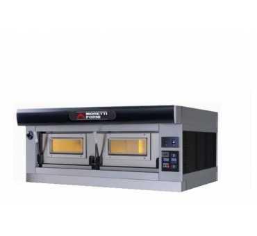 MORETTI FORNI - Four à pizza électrique SERIEP 1 chambre Ø300-450 mm - P120E1-C