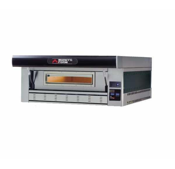 MORETTI FORNI - Four à pizzas gaz SérieP 1 chambre 6xØ300 mm - P110GA1