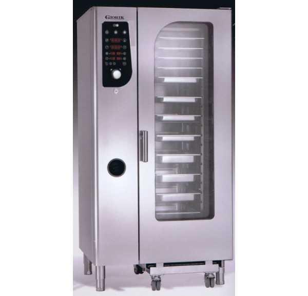 GIORIK - Four mixte électrique à injection de vapeur 20 niveaux GN 1/1