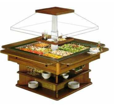 BUFFET REFRIGERE CARRE CENTRAL