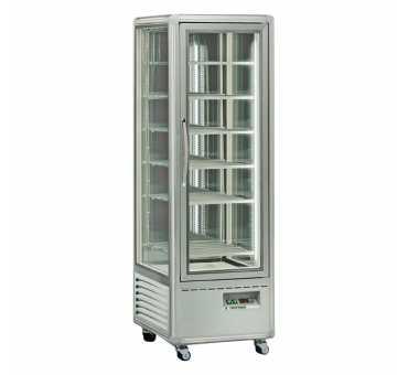 TECFRIGO - Vitrine réfrigérée négative 4 faces vitrées 400 L - SNELLE400GBT
