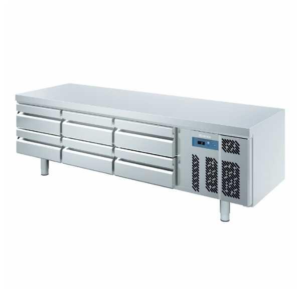 INFRICO - Soubassement réfrigéré 6 tiroirs Gn 1/1 - MSG2000