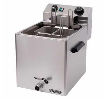 CASSELIN - Cuiseur à pâtes électrique avec vanne de vidange - CCAPV1G