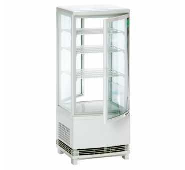 BARTSCHER - Mini vitrine de comptoir réfrigérée bombée 86 litres - 700678G