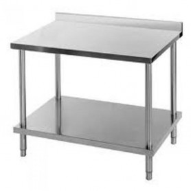 Table de travail Inox MURALE 1.200 x 700 - TM1270RE