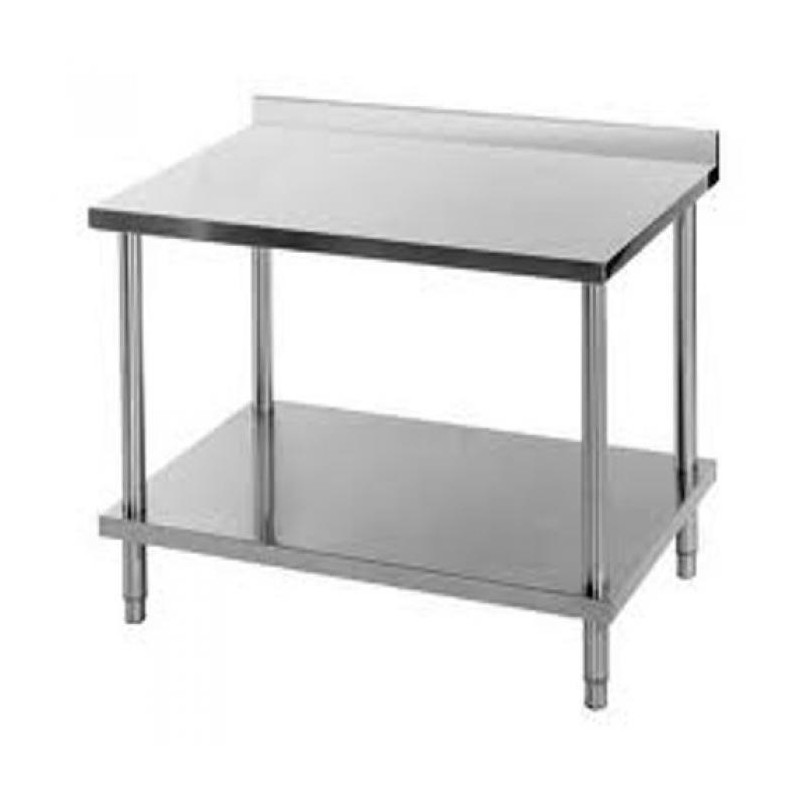 Table de travail Inox murale 1.400 x 700 - TM1470RE