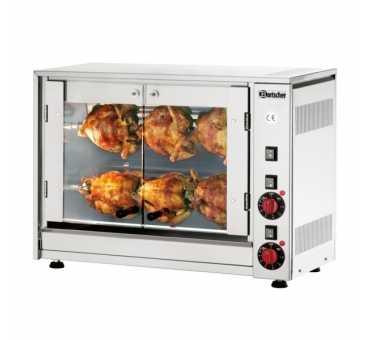 BARTSCHER - Rôtissoire électrique 2 broches 6 poulets - 215035