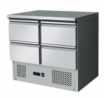 COMEBA - Table réfrigérée 4 tiroirs Gn 1/1 - ESL3820