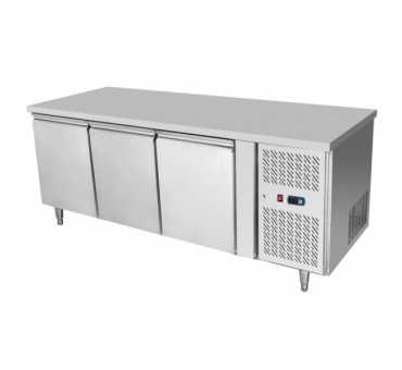 COMEBA - Desserte réfrigérée 3 portes - 420 litres - EPF3432