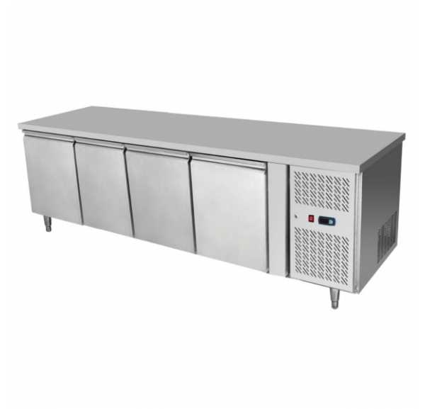 ATOSA - Desserte Réfrigérée Positive 4 portes / Prof. 700 - EPF3442