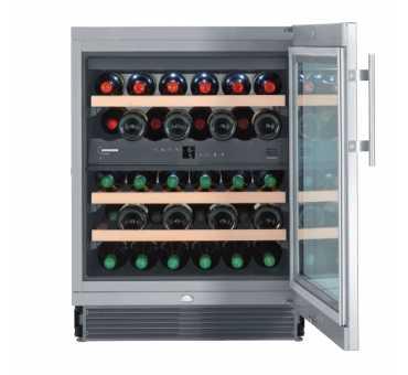 Cave à vin professionnelle mixte et encastrable 34 bouteilles Liebherr
