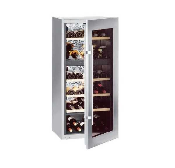 armoire vin wtees2053chr liebherr achat vente cave. Black Bedroom Furniture Sets. Home Design Ideas