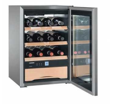 LIEBHERR - Cave à vin et chocolats 12 bouteilles - WKES653CHR